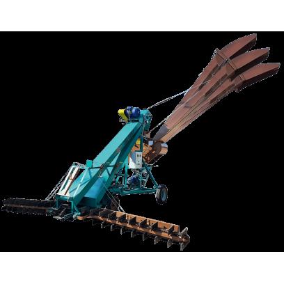Зернометатель самопередвижной ЗМ-120У